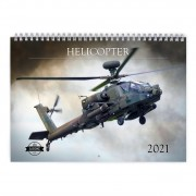 Helicopter 2021 Calendar