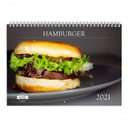 Hamburger 2021 Calendar