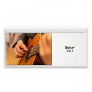 Guitar 2021 Magnetic Calendar
